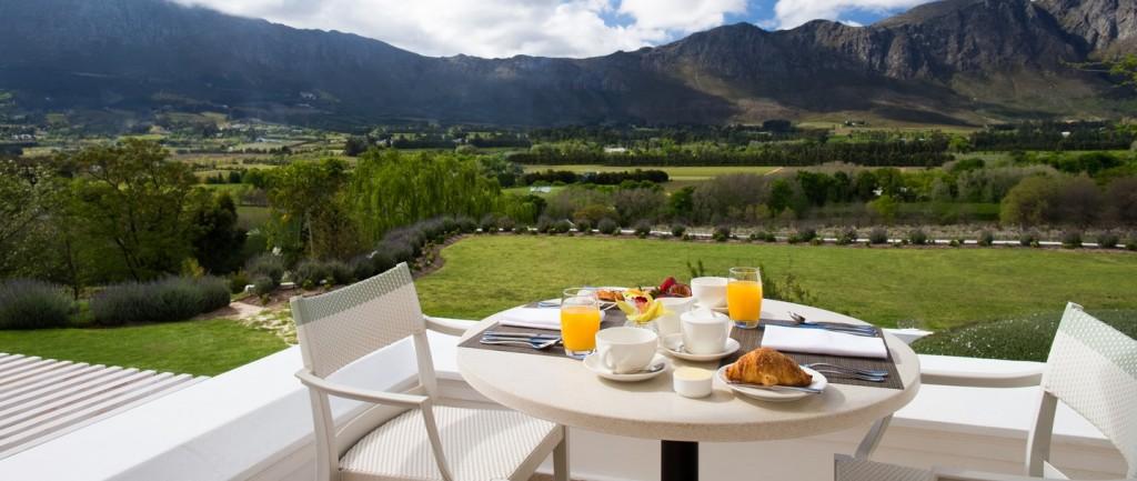 Mont Rochelle breakfast